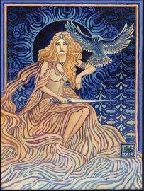 Minerva, Goddess of Wisdom by Emily Balivet. www.EmilyBalivet.com