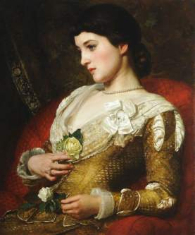 Poynter, Edward John, 1836-1919; Mrs Langtry (1853-1929)
